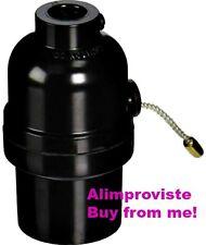 LEVITON Nylon PULL Cord PHENOLIC Cap & Shell LAMPHOLDER On/Off 250W 97092 NEW
