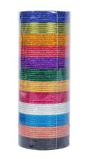 Indian Bangles Bollywood Fashion 12 Colors Plain Bangle Box Partywear Jewelry