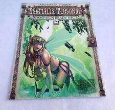 Archangel Studios d20 RPG Dramatis Personae Campaign Ready NPC's D&D