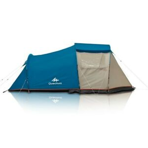 Camping Tent With Poles 4 person 1 bedroom Family Tents Outdoor Hiking