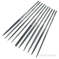 SILVERLINE 10PC NEEDLE FILE SET Model Engineering Tools