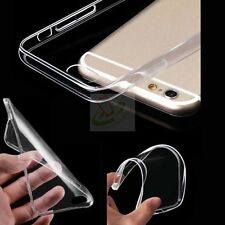 For ZTE Zmax Pro Z981 Clear Slim TPU Rubber Silicone Gel Protective Case Cover