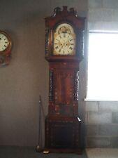 ANTIQUE LONG CASE  GRANDFATHER CLOCK  / M.GORDON  WOLVERHAMPTON