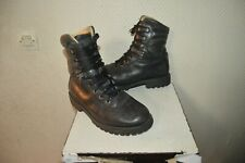 CHAUSSURE BOOTS RANGERS ARGUEYROLLES ARMEE FRANCAISE TAILLE 39 BOTTE CUIR