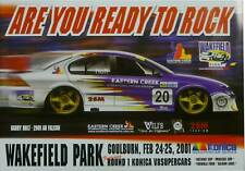 Ford Falcon AU 2001 Wakefield Park #20 Garry Holt Konica V8 Supercars Poster
