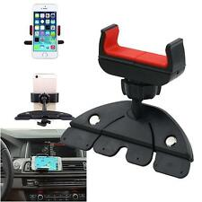 360° Handy CD Slot Car Mount Holder Stand for iPhone Samsung Smart Phone GPS FT