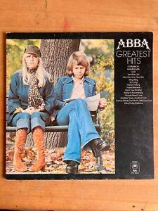 Abba - Greatest Hits -Vinyl LP Album - Epic Records EPC 69218, good condition