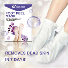SWAN STAR Baby Foot Mask Peel Exfoliat Treatment Remove Callus Dead Skin 2Pairs