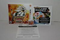 Pokemon Sun (Nintendo 3DS, 2016) Complete with case and inserts Free Shipping!
