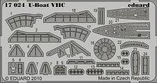 Eduard 1/350 U-Boat VIIC for Revell kit # 17024
