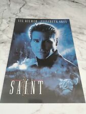 Film/Movie Premiere Brochure From London's Leicester Square - The Saint (1997)