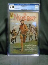 The Naked Prey #12-545-612 Dell Comic Books 12/1966 Movie GRADED CGC 7.0