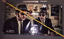 BLUES BROTHERS movie banner BELUSHI animal house POSTER ACTION FIGURE HAT B77