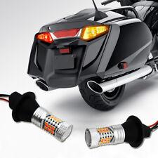 For 2001-2017 Honda GL1800 / F6B LED Turn Signal Light Red&Amber 3535-SMD Newest