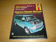 Haynes GMC SAFARI (85-05) SL SLE SLT VAN Owners Repair Service Manual Handbook