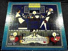 "Classic Charles Wysocki 1000 pc. puzzle- ""DINNING SWEETHEARTS"""