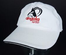 Angola Hunting LNG White Baseball Cap Hat Liquid Natural Gas Propane Butane