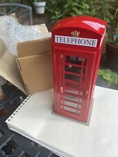 More details for telephone box / kiosk 1:12 scale suitable for g scale 7/8ths garden railway bnib