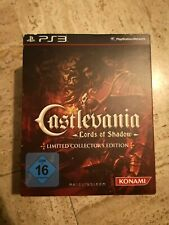 CASTLEVANIA Lords of Shadow Limited Collector's Edition Masque Coffret Sony PS3