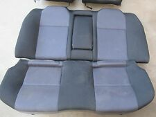 SUBARU IMPREZA WRX GDA 02- REAR BUCKET SEATS SET - TOP BOTTOM UPPER LOWER