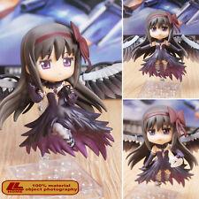 """Anime Devil Homura Akemi Nendoroid 456 4"""" PVC 2faces Action Figure Gift Toy NIB"""
