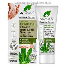 Dr Organic Hand & Nail Treatment Hemp Oil 100ml