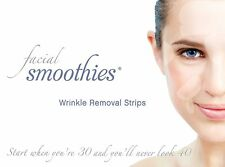 2 BOXES FACIAL SMOOTHIES Anti Wrinkle Patches - NEW Larger Template! Save $2