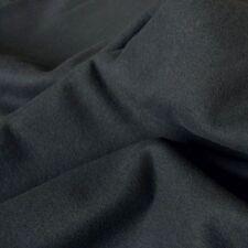 Bühnenmolton schwarz Flammenhemmend 3m breit Molton Baumwoll-stoff Tolko