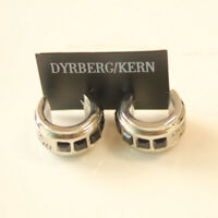 New 17mm Dyrberg/Kern C Stud Earrings Gift Fashion Women Party Holiday Jewelry