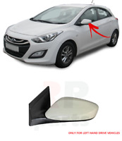 FOR HYUNDAI I30 12-16 NEW WING MIRROR ELECTRIC FOR PAINTING 3PIN LEFT N/S LHD