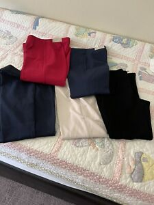 lot of 5 chicos so slimming juliet ankle pants sz 2