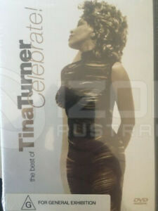 TINA TURNER - The Best Of - Celebrate DVD BRAND NEW!