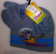 TODDLERS 2 PC SET 1 HAT 1 PR MITTENS 1 SIZE FITS MOST SCOOBY-DOO TOUCHDOWN A-19