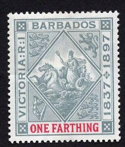Barbados 1897 stamp Mi#53x MH CV=6€