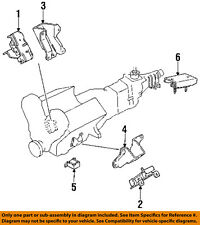 Engine /& Trans Mount 3PCS 1995-2002 for Acura SLX// for Honda Passport 3.2L 3.5L