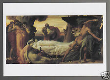 FREDERIC, LORD LEIGHTON Hercules Wrestling Death for Body of Alcestis POSTCARD