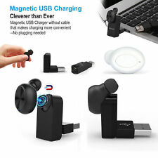 New Invisible Magnetic USB Bluetooth 4.1 Headset Wireless Stereo Headphone