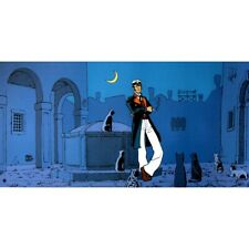 Poster offset Corto Maltese, The World Is a Theater (50x25cm)