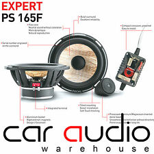 "Focal PS165F Expert Series 6.5"" 17cm 140 Watts Flax Cone Component Car Speakers"