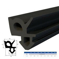 Gummi-,Tür-, Fensterdichtung S-1387 1-100m EPDM Schwarz Wärme-,Schalldämmung TOP