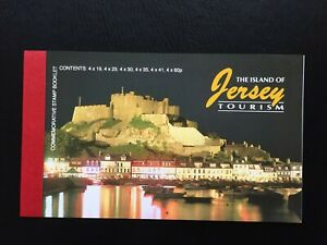 JERSEY Tourism Postage Stamp Booklet, 1996, Mint