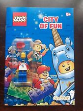Lego City of Fun - Activity Book with Train Passenger MiniFigure - New