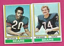 1974 TOPPS CHICAGO BEARS  NRMT-MT  CARD LOT (INV# C0426)