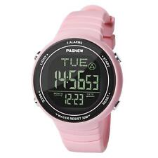 Pink Sports Smart-watch Digital Imperméable Exercice/Casual Girl/Lady/femme/ado