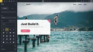 Bricks Builder - Genuine 2021 New WordPress Drag&Drop Visual Theme/Page Builder