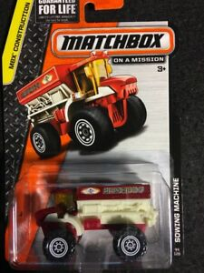 MATCHBOX MATCHBOX MBX CONSTRUCTION SOWING MACHINE 1/64 44/120 PURPLE & WHITE
