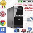 Fast Cheap PC Tower - HP 500B MT Dual Core E5400 2.7GHz 2GB 320GB Win 10 Pro