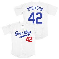 Medium Jackie Robinson #42 Brooklyn Dodgers Baseball Jersey Men STITCHED M