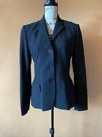 Ralph Lauren Black Label Collection Classics Wool Blend Blazer Jacket Size 6