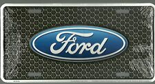 FORD OVAL EMBLEM  License plate tag sign  ALUMINUM Made in USA